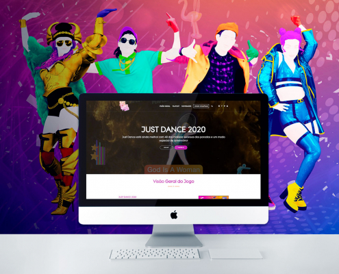 site Just Dance